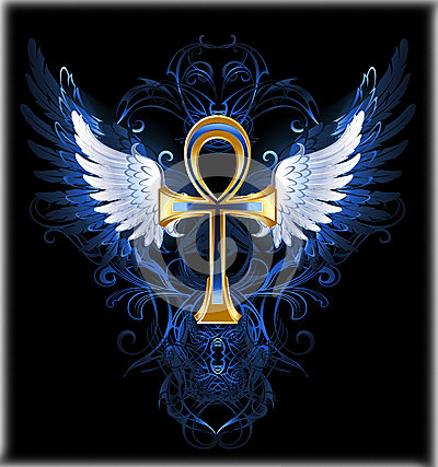 gold-ankh-white-wings-dark-blue-patterned-background-32989761